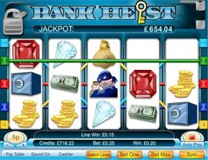 Bank Heist 5 Reel