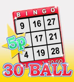 30 Ball Easy Jackpots