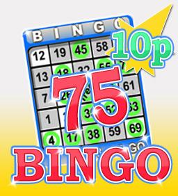 Star 75 10p Bingo
