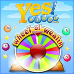 Spin the Wheel of Wealth at Yes Bingo