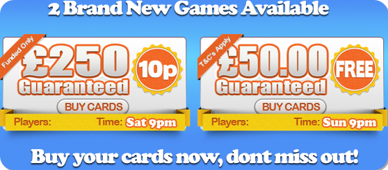 yes bingo new games